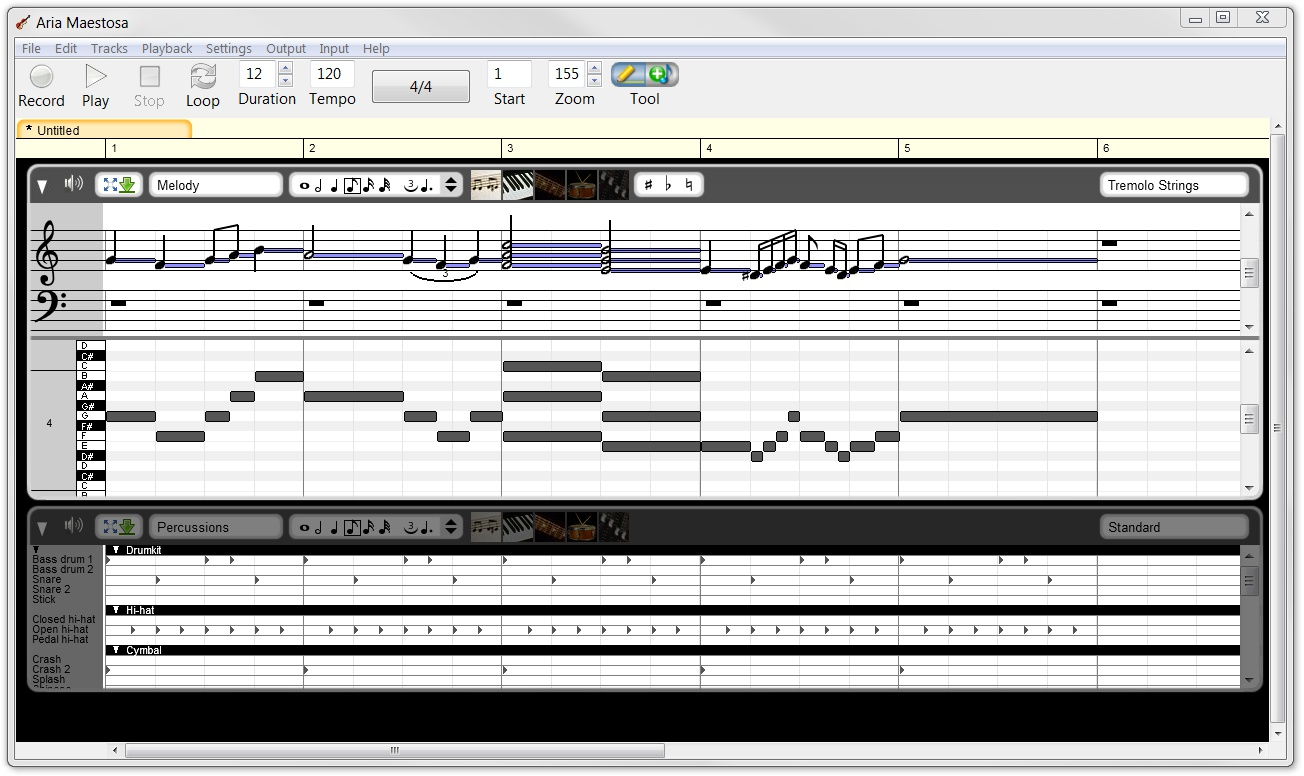 aria-maestosa-free-midi-sequencer-editor
