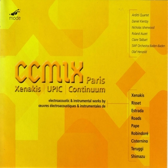In 2001 was published a collection of works created with the UPIC system at CCMIX in Paris.