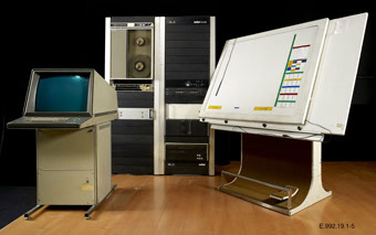 The UPIC system as it is today in a museum.