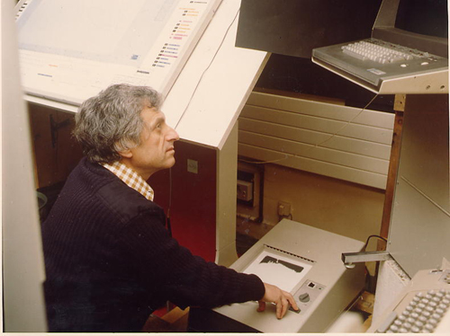 The UPIC system from another angle. Via Iannis-xenakis.org .